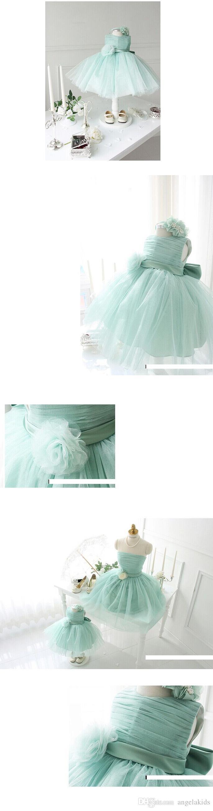 Mère Et Fille Vêtements 2016 Brillant Perlé Mère Et Fille Rose Occasion Spéciale Bal Robes De Fête Enfants Princesse Robe Jupe