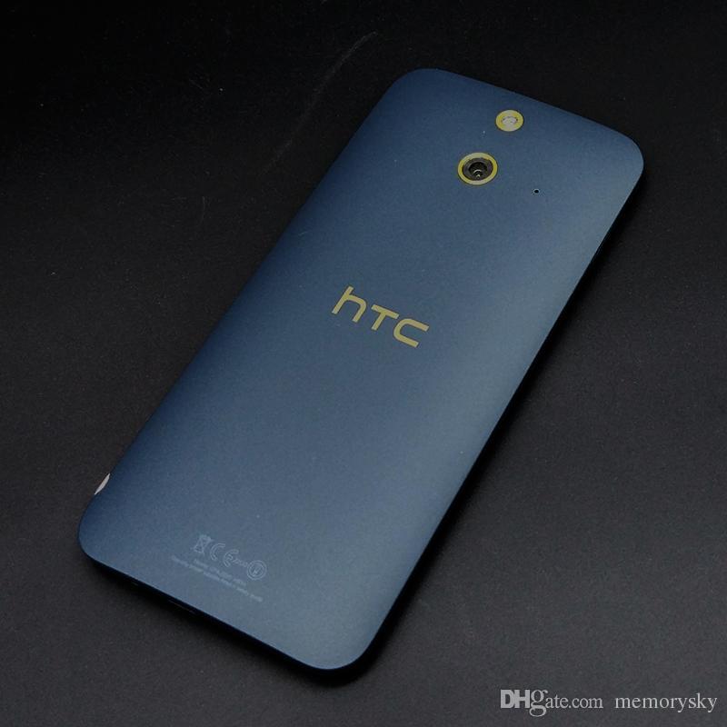 Telefono sbloccato Telefono cellulare rinnovato HTC One E8 Telefono Android Dual Sim Single Sim Quad core RAM 2 GB ROM 16 GB WIFI GPS 13MP 5 pollici