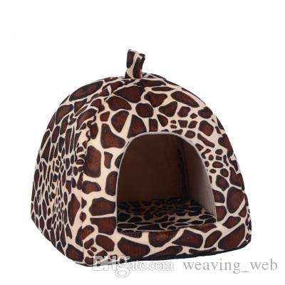 Pet House Puppy Cat Rabbit Guinea Pig Bed Kennel Nest Dog Cat House Foldable Comfortable High Quality Pet House Free Shipping