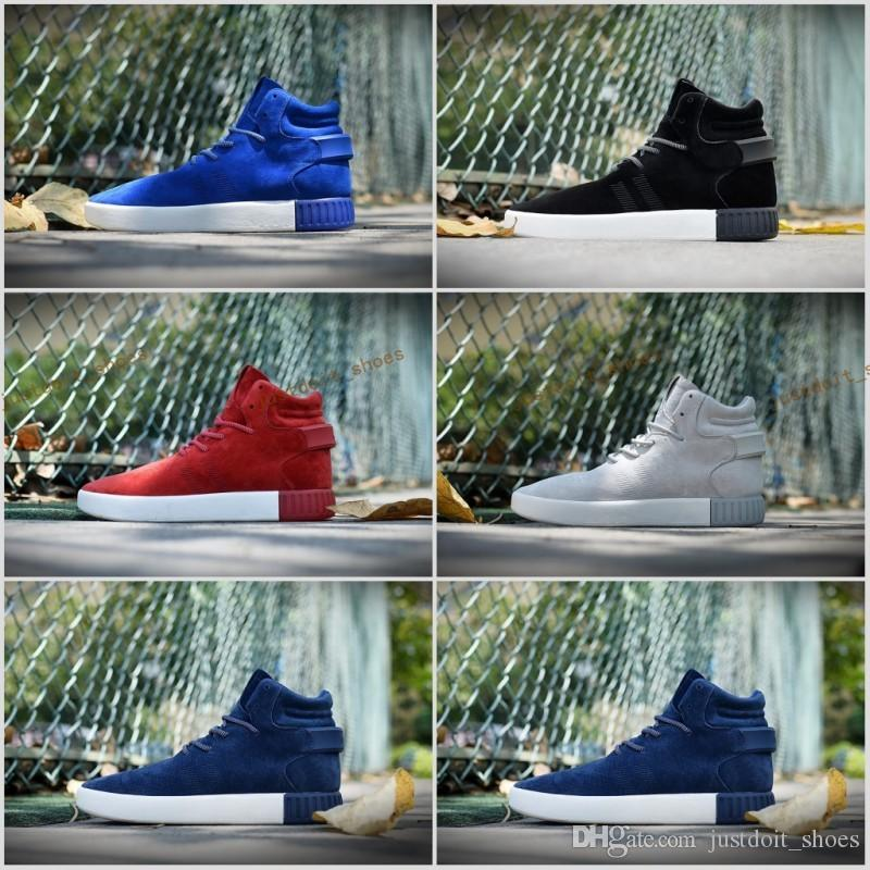 6 Color Free Shipping Famous Tubular Invader Strap Kanye West 750 Sesame Mens Sports Running Athletic Sneakers Shoes Size 7-10 outlet for cheap recommend online i9fmi6