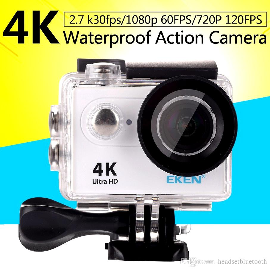 81d678921c3 Action Camera Original H9 H9R With Remote Control Ultra HD 4K WiFi HDMI  1080P 2.0 LCD 170D Pro Sports Camera Waterproof Cam With Retail Box High  Definition ...