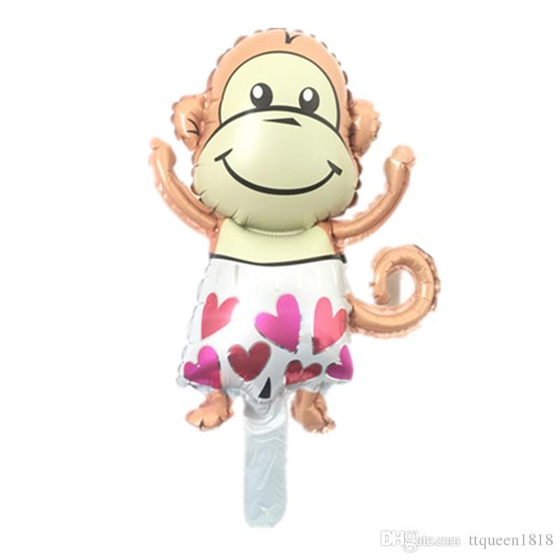 inflatable mini monkey balloon game decoration supplies ballons globos kids birthday party monkey balloon