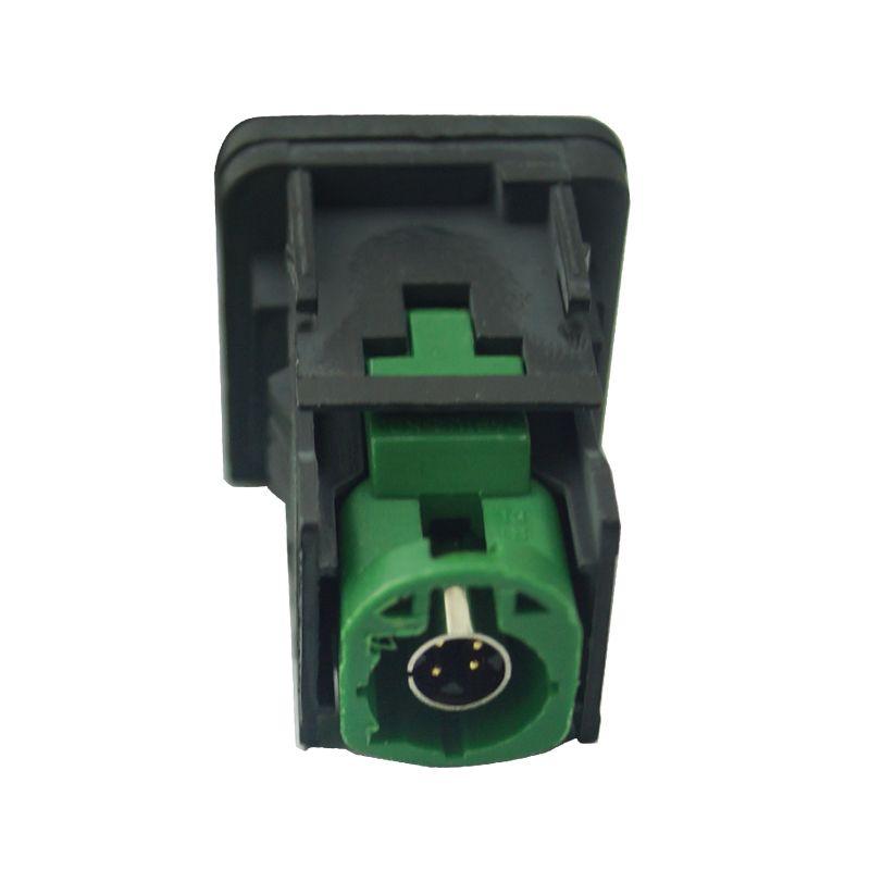 FELELO Car OEM RCD510 RNS315 USB Cable with Switch for VW Golf MK5 MK6 VI 5 6 Jetta CC Tiguan Passat B6 Armrest Position # 1698