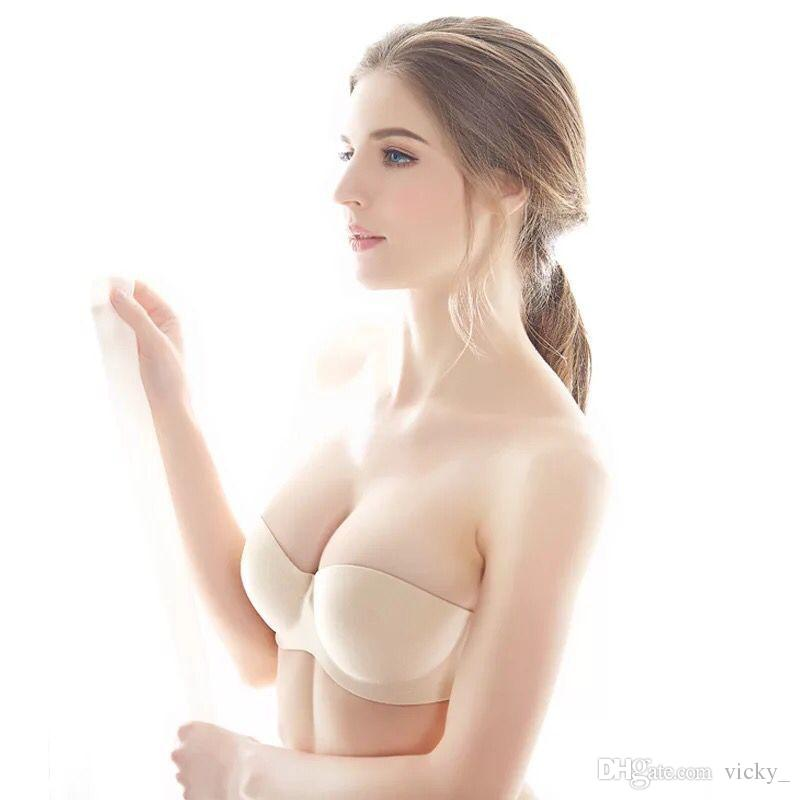 10e630a238 2019 Windsor And Europe Strapless Bra Invisible Lingerie Lingerie With A Three  Colour Bridal Gown From Vicky