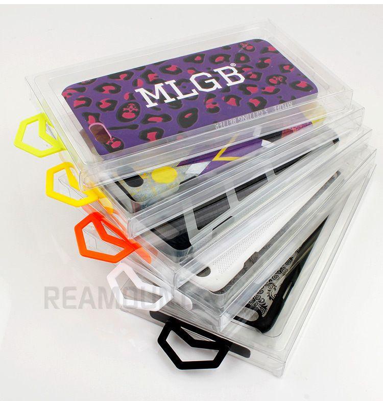Neue Design Luxus Klar Einzelhandel PVC Verpackung für iPhone 8 8 plus Fall Paket Box für iPhone Handy Fall Abdeckung