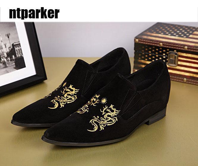 Negro Mano ¡el De Envío Hombre Cuero Casuales A Zapatos Hombre Calza Diseño Flats Libre Al Excelente Lujo Del Hecho 8wfgwqz46