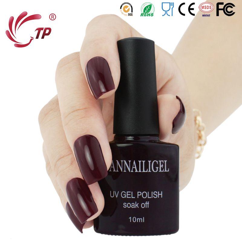 Wholesale Dannail Brands Red Wine Color #62 Uv Gel Varnishes Nail ...