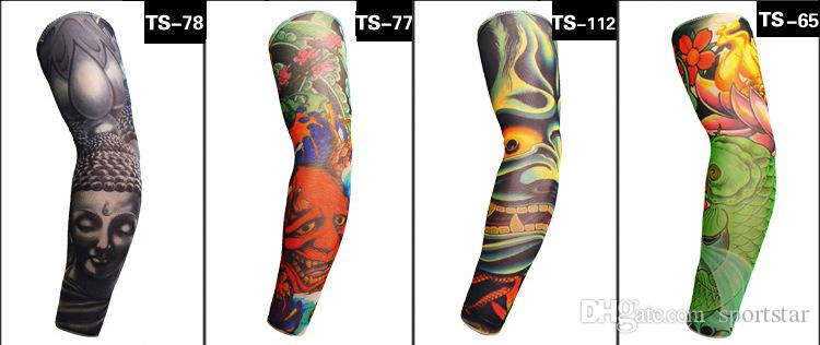 2019 Sports Compression Tattoo Cool Arm Sleeves Youth Adult Baseball