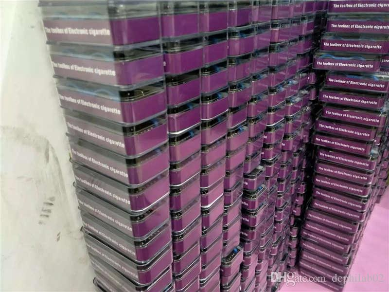 매직 스틱 CW DIY RDA 예비 코일 지그 와이어 도구 상자 Master Vape Jig Kit 6 in 1 for Electronic Cigarette RBA Atomizers
