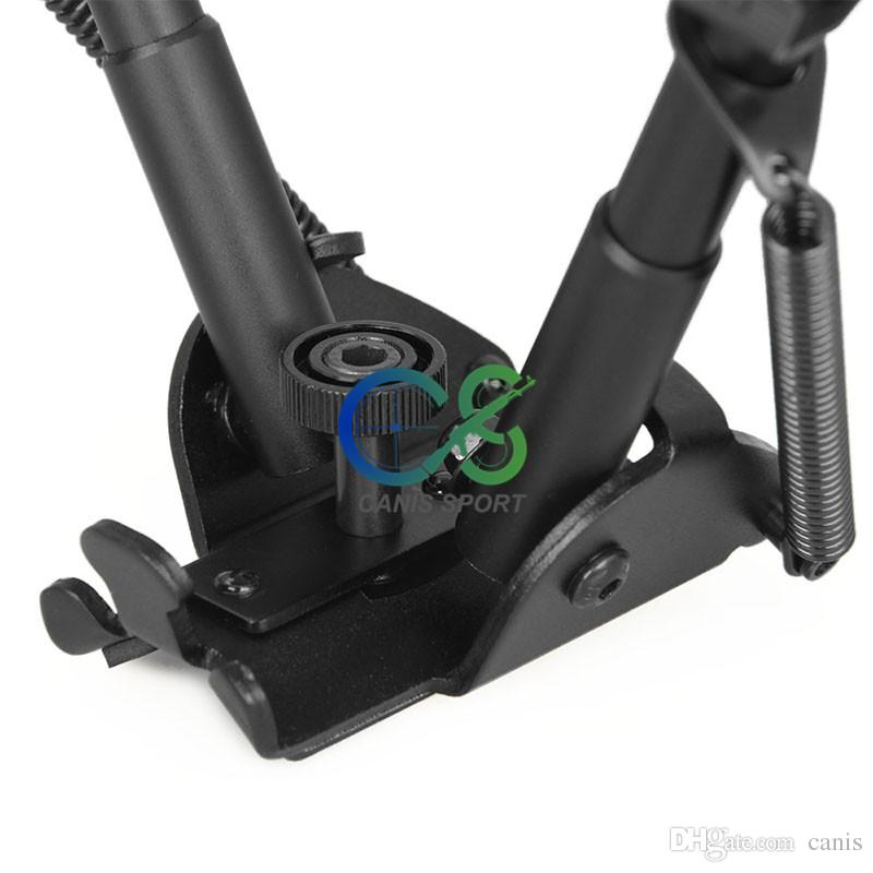 Tactical 13-27 Inch Tripod Auto Eject Metal Bipod Designed for Real Fire Caliber for Shooting CL17-0034