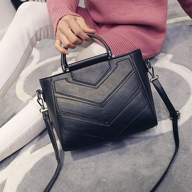 Wholesale Leftside New Vintage Black Pu Women Leather Handbags Designer Women  Messenger Bags Crossbody Shoulder Bag Hand Totes For Ladies Backpack Purse  ... 04409be21fb12