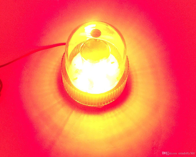 LED 깜박이는 경고등주의 비상 라이트 차량용 전자 비컨 스트로브 트럭 트럭