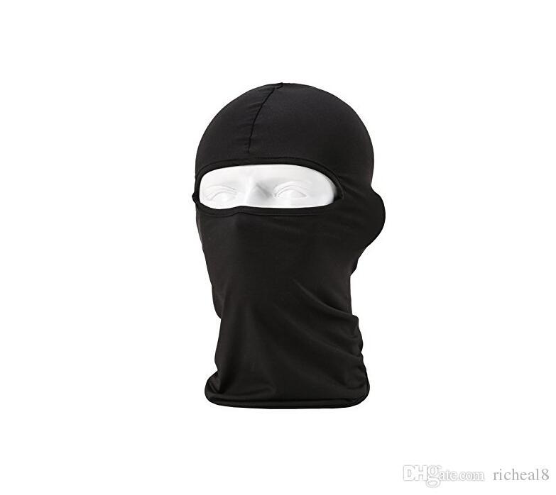 Al por mayor-camuflaje polar polar pasamontañas Cálido invierno ciclismo esquí cuello máscaras capuchas Paintball sombreros motocicleta Tactical cara completa máscara