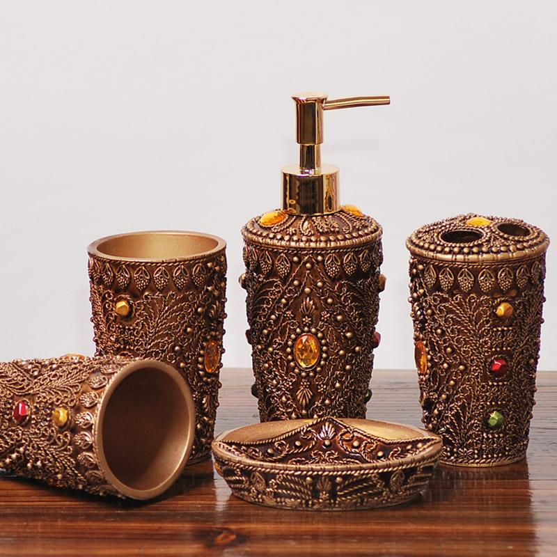 Online Cheap Fashion Resin Bathroom Set Bathroom Supplies Kit ...