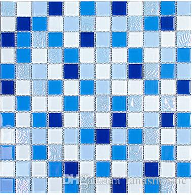 2019 Mixed Color Glass Tiles,Swimming Pool Tiles,Wall/Kitchen ...