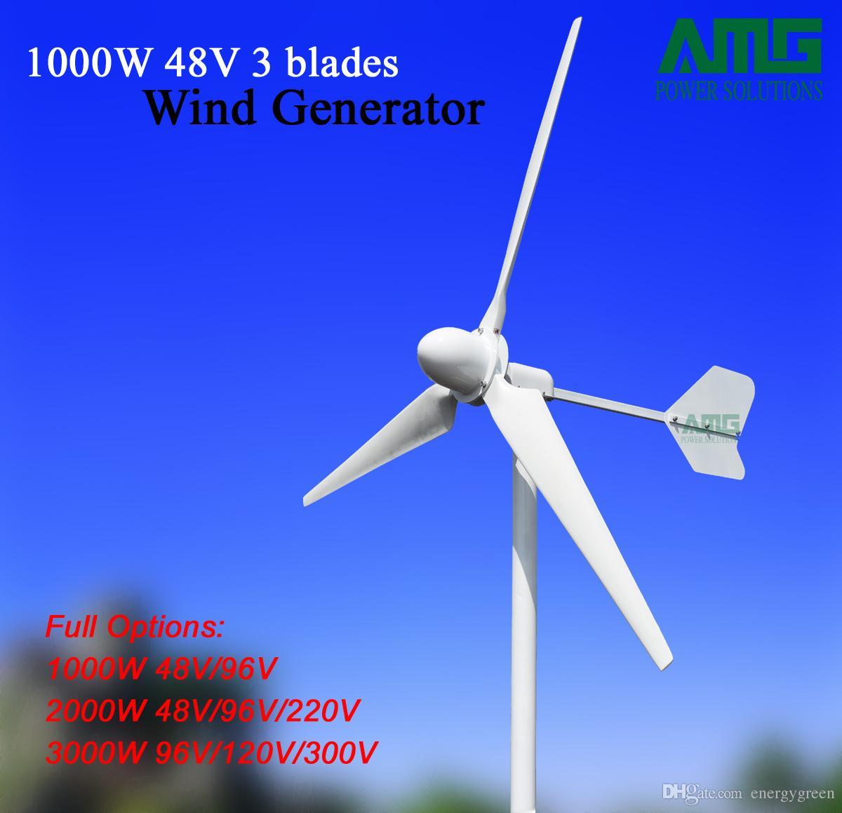 9213f53c77c Compre AMG Gerador De Turbina Eólica 1000 W 48 V   96 V