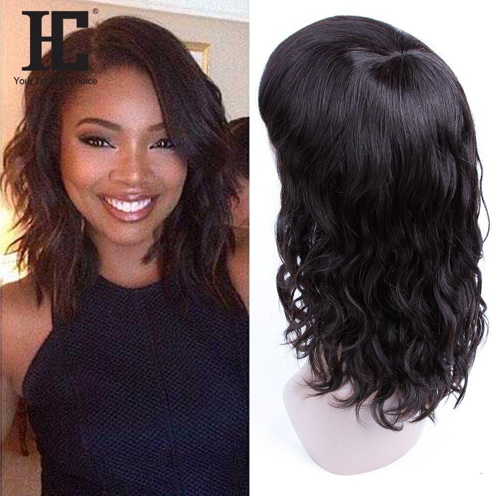 Brazilian Virgin Human Hair Short Wigs 12 Inch 100% Unprocessed Human Hair  No Lace Wigs With Bangs Human Hair Wigs For Black Women Pink Wigs For Sale  Auburn ... 1d68e400b