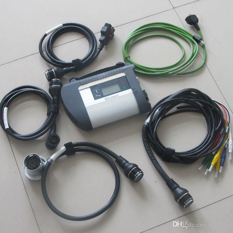 2017 mb star c4 sd connect with wifi function mb sd star c4 with full set cables MB SD Connect Compact 4