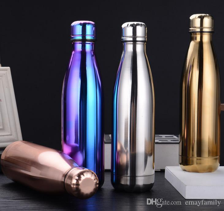 fashion outdoor water bottle cycling camping bicycle sports thermal