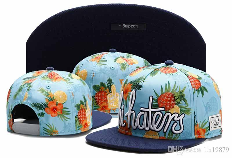 9ae20d62262 Cayler   Sons Hi Haters Pineapple Snapback Caps Hip Hop Cap Flat Hat ...