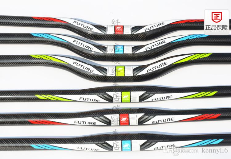 future mtb bicycle full carbon fiber bike rise handlebar MTB bicycle handlebars 31.8* 580 660 680 700mm mountain flat bars cycling parts