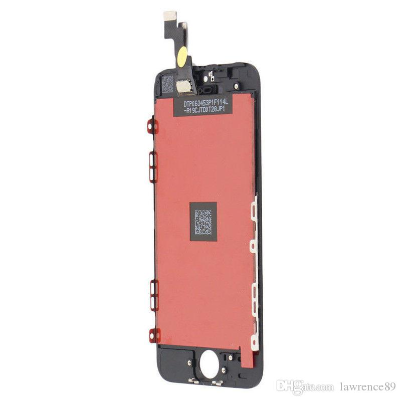 AAA+++ Quality LCD Display With Touch Screen Digitizer Assembly Replacement for iPhone 5 5s 5c DHL