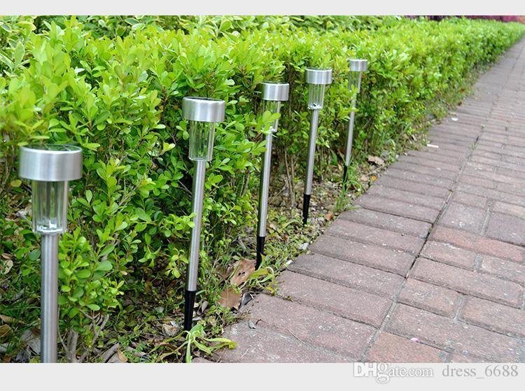 Acquista luci da giardino solare luci da giardino esterni lampada da