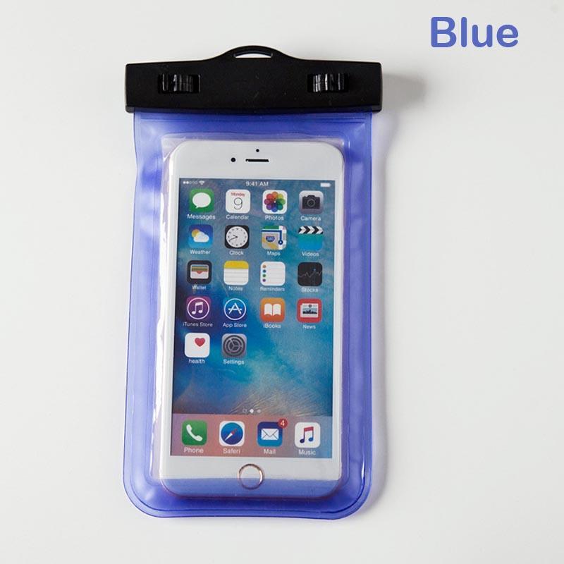 Universal wasserdichte Fälle für iPhone 12 11 XR xs Samsung Telefon transparent Klarbagsack Schwimmen Trockenbeutel Abdeckung Full Protector Touchscreen flexibel