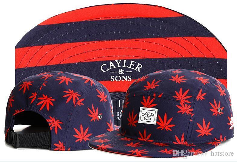 Compre Hombres Gorras Strapback Cayler Sons 5 Sombreros De Snapback Panel  Leaf Print Hip Hop Barato Sombreros Ajustables De Los Snapbacks Para Los  Hombres O ... e3173804875