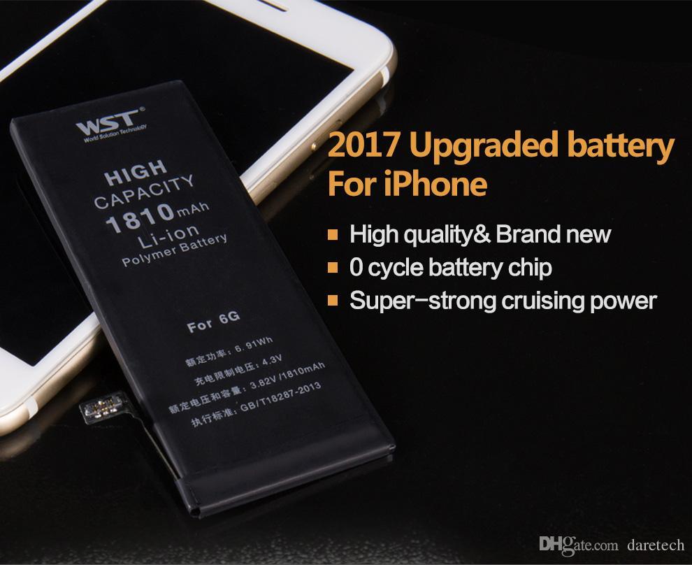 40b0ff417a1 Compre Melhor Qualidade Interno Interno Li Ion Bateria De Reposição Para Iphone  4s 4 5 5S 5c 5g 6g 6 S 1430 Mah 1510 Mah 1560 Mah 1440 Mah Testado Bateria  ...