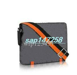 N42405 Hot DISTRICT PM High End Quality New Arrival Famous Brand Classic Designer  Fashion Men Messenger Bags Cross Body Bag School Shoulder White Handbags ... b8d6e3394b3ac