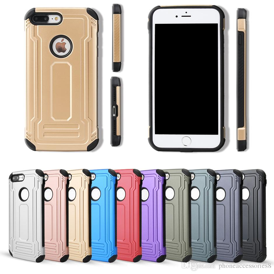 7356403c94 Defender Back Cover Phone Case For IPHONE 5 IPHONE 6 IPHONE 7 2 In 1 Two In  One Phone Case Cell Phone Cases Canada Cell Phone Pouches From  Phoneaccessories8 ...