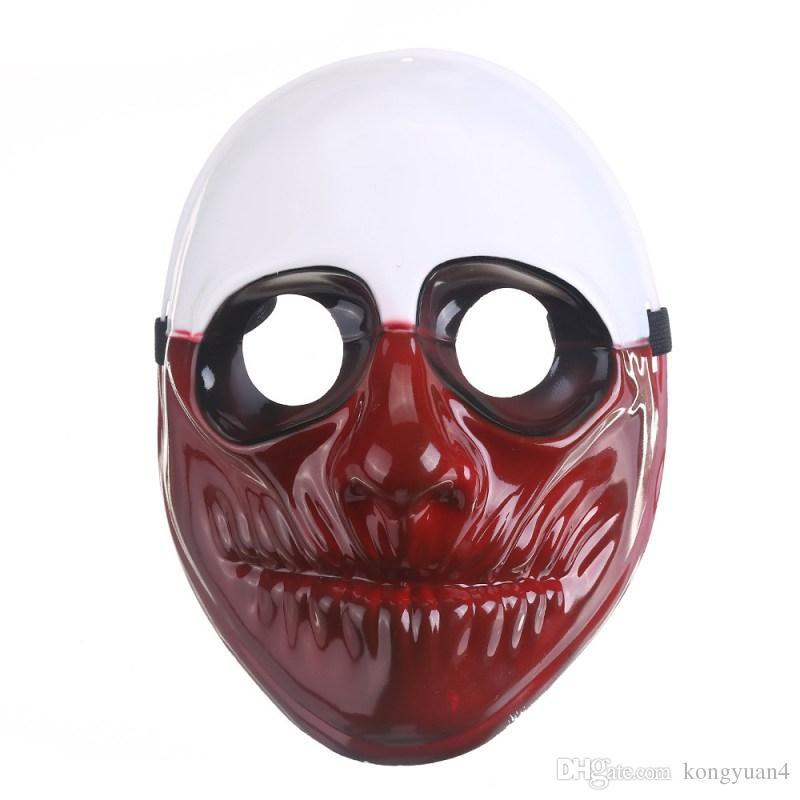 Nova Moda PVC Máscara de Palhaço Assustador Máscara de Halloween Para Carnaval Mascara Carnaval Fancy Dress Costume