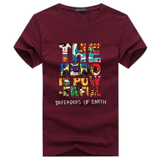 Algodão de alta qualidade Cor Sólida camisetas mens moda O pescoço camiseta de Manga Curta casuais 2017 homens Tamanho Da Marca S-XXXXXL