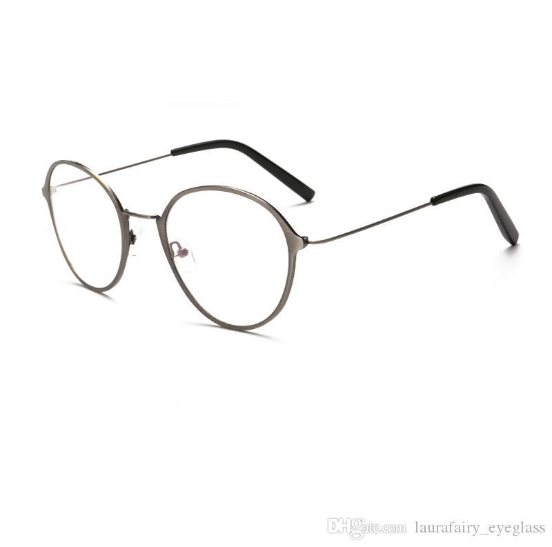 Großhandel Brand Designer Brillen Herren Frauen Runde Klassische ...