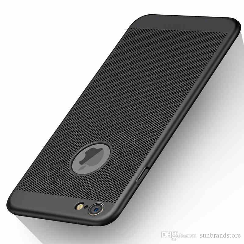 promo code 8a794 c6332 Luxury Ultra Thin Case For iPhone 7 plus Hollow Radiating Cover For iPhone  7 phone bags