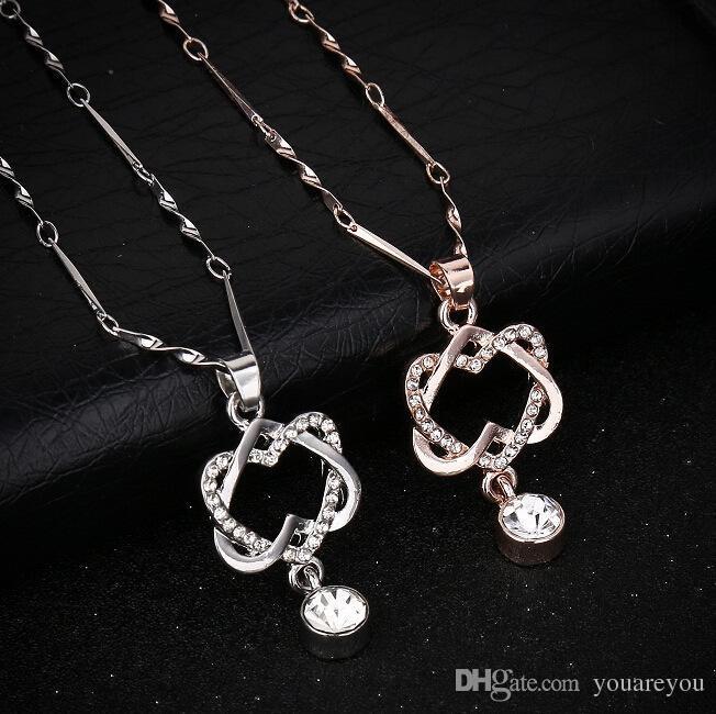 collier swarovski crystal
