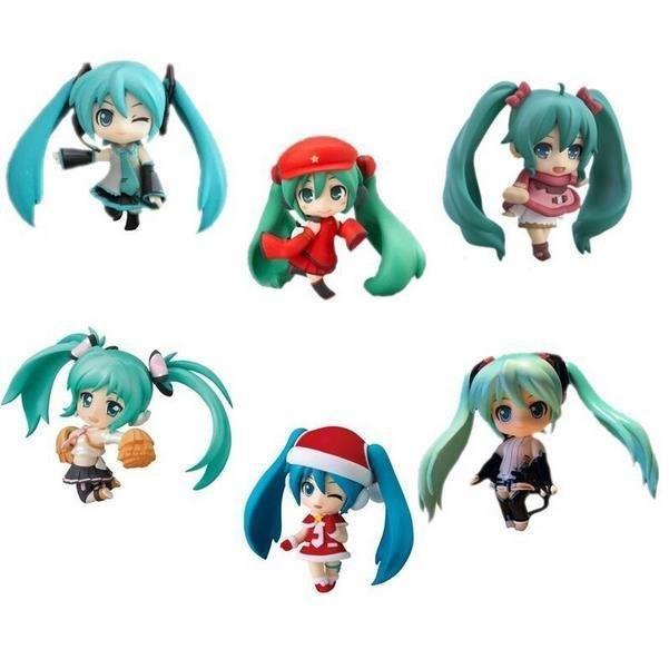 Grosshandel 6 Teile Satz Anime Chibi Hatsune Miku Figur Spielzeug Figma Gute Geschenk Und Sammlung Von Tans Boy