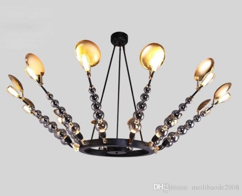 Moderne Lampen 16 : Großhandel moderne kurze luxus pendelleuchte wohnzimmer