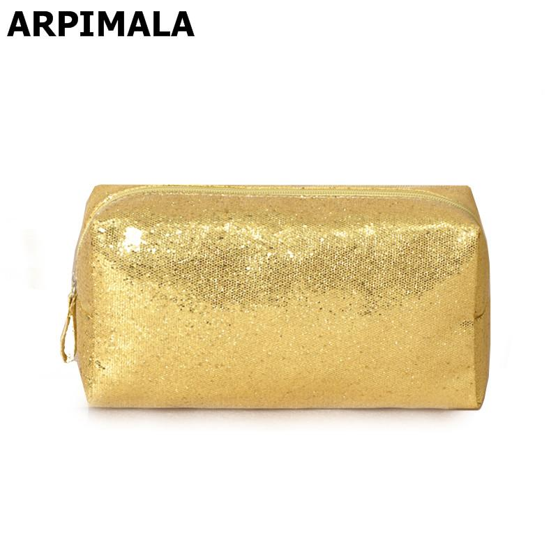 Designer Cosmetic Bags Sequins Luxury Toiletry Bags Organizer Gold Silver  Women Makeup Bag Beautician Travel Make Up Beauty Case Handbags On Sale  Shoulder. Designer Cosmetic Bags Sequins Luxury Toiletry Bags Organizer Gold