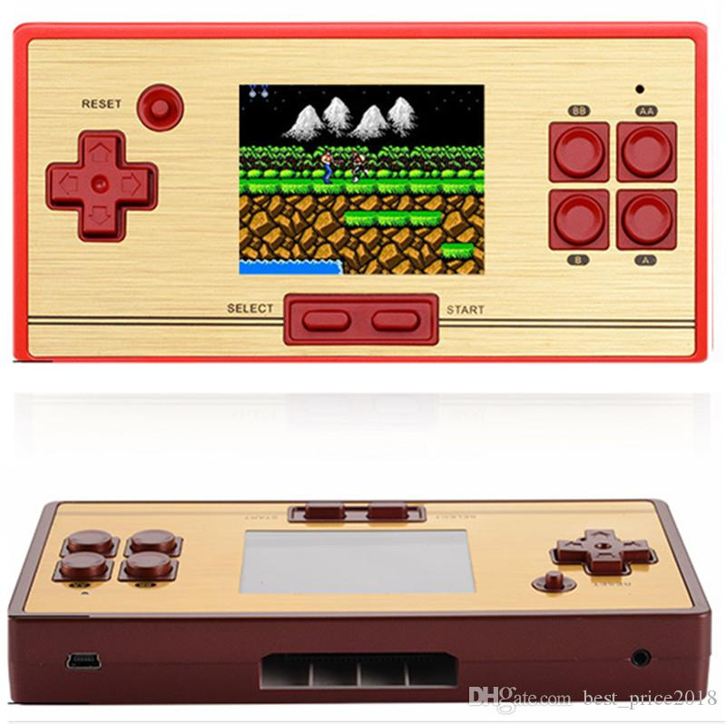 Mini TV Video Retro Handheld RS-20 CoolBaby Pocket FC Game Console Built-in 600 Games With 2.6 Inch Color Screen