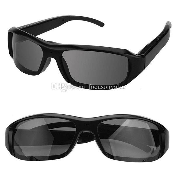 1080P Sunglasses Camera Mini Portable Camcorder Full HD Glasses DVR Pinhole Camera Video Recorder Sunglasses Camera with retail box