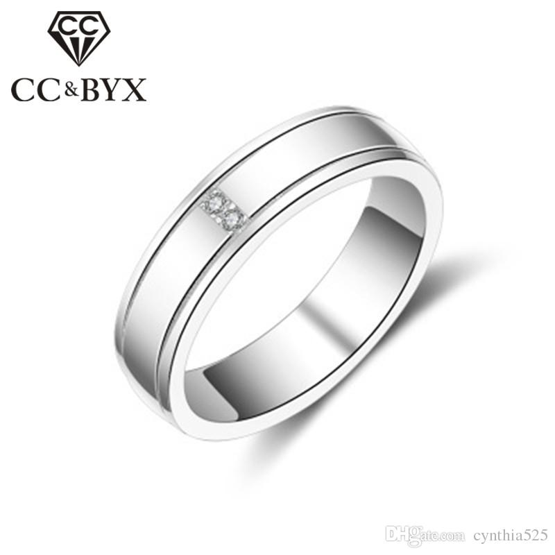 2018 Cc Jewelry Midi Rings Trendy Jewellery Simple Design Rings ...