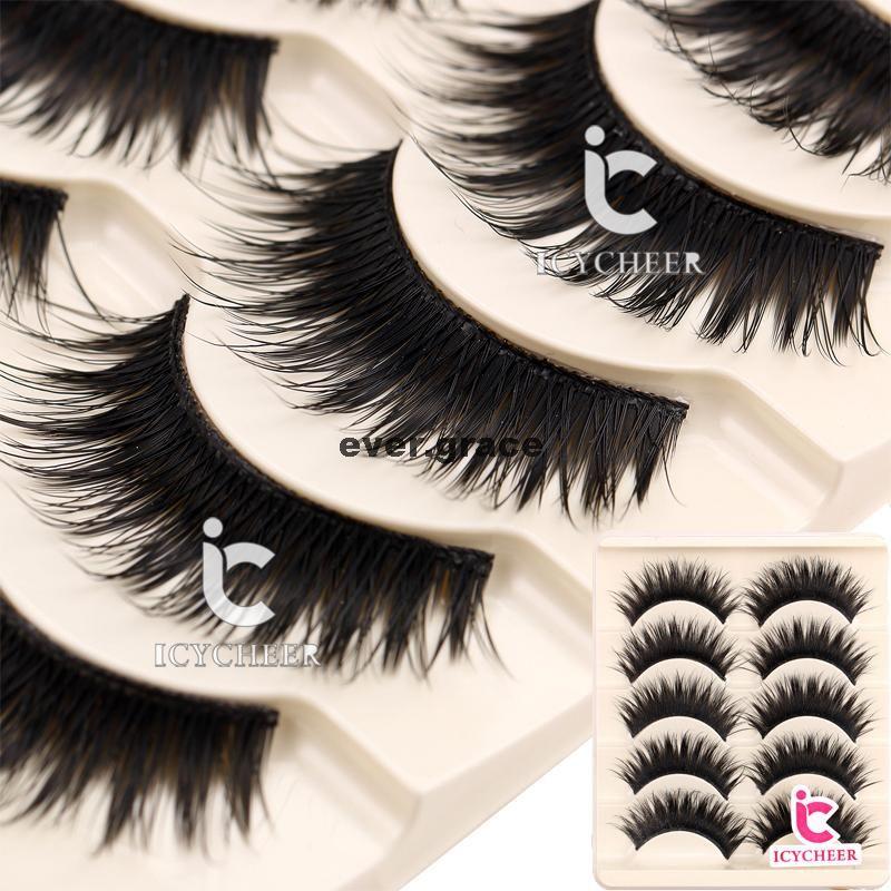 8ca465dae98 Wholesale ICYCHEER Handmade Makeup Cosmetics False Eye Lash Curl Eyelashes  Extention Salon Fake Lashes Individual Lashes From Jiami, $32.8| DHgate.Com