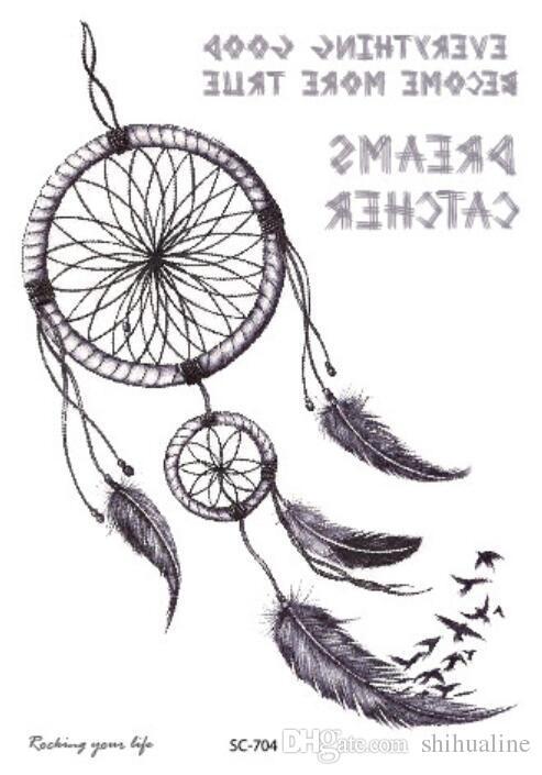 Autocollants de tatouage de mode créative autocollants de couleur personnalisée collection de personnalité de rêve autocollants de tatouage personnalisés de mode personnalité autocollants de tatouage