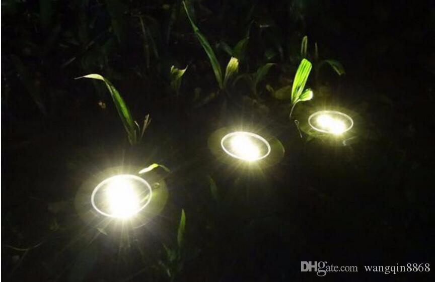 Tanbaby 4 LED SMD الشمسية تحت الارض ضوء في الهواء الطلق للطاقة الشمسية مصباح ليلة بالطاقة لمسار ساحة حديقة ساحة المشهد الكلمة الخفيفة