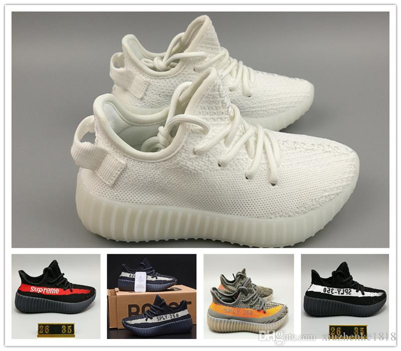 2018 Kids Shoes Kanye West Season 3 Sply 350 Boost V2 Sneakers Children  Shoes Baby Boys Girls Athletic Shoes Black Red All White Zebra From  Xiuzhenke1818, ...