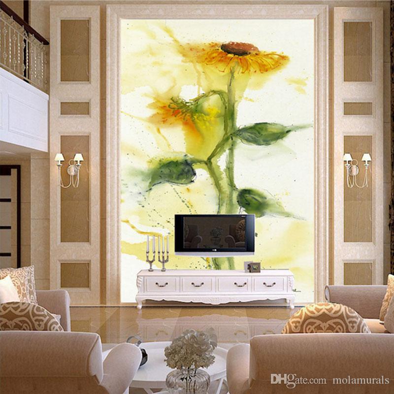 Benutzerdefinierte Fototapete 3D Fresco TV Wand Hintergrund Wand wohnzimmer schlafzimmer wandbild tapete 3d