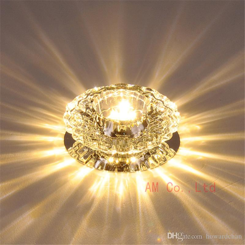 Modern Crystal LED Ceiling Light Pendant Lamp Fixture Home Lighting Chandelier