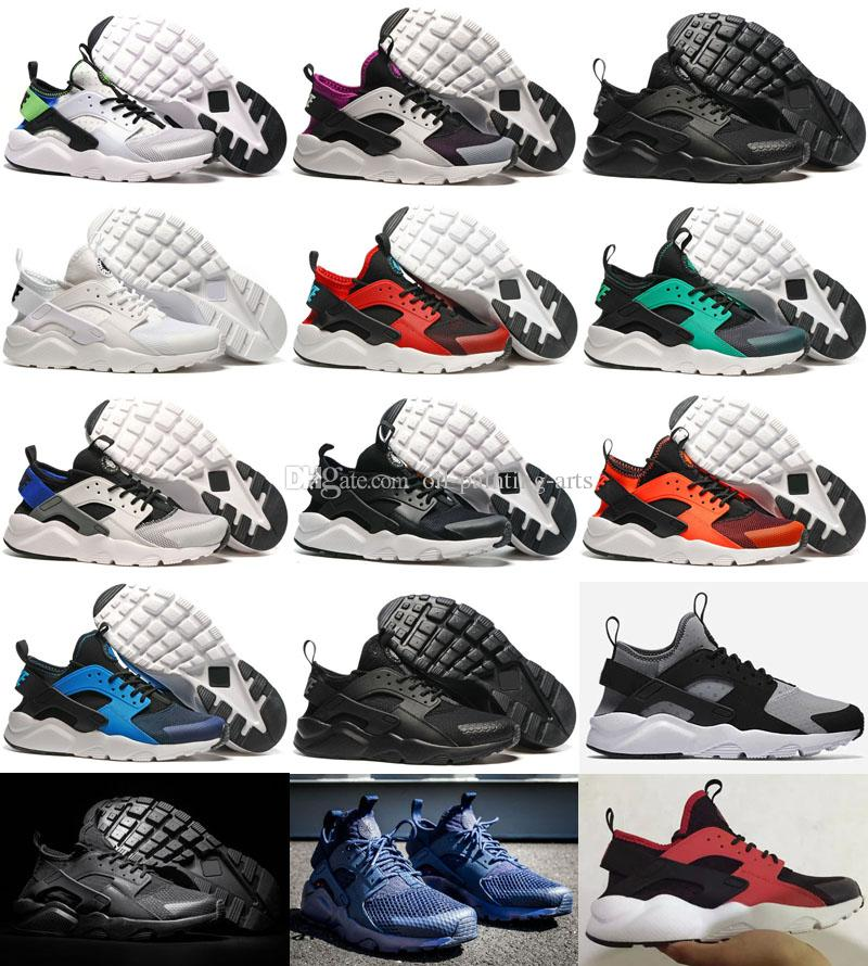 55de7ba9562c6 New Design Air Huarache 4 All Red Mesh Huraches Ultra Breathe Men And Women  Huaraches Casual Shoes Size 36 45 Fashion Shoes Shoes For Sale From Oil  Painting ...